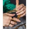 δαχτυλια black onyx triple braid lifelikes