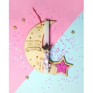 LifeLikes λαμπάδα Φεγγάρι κορίτσι