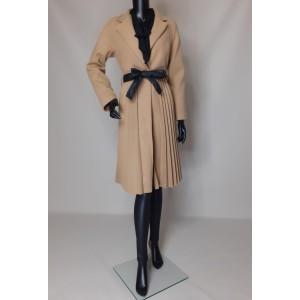 Παλτό με πιέτες